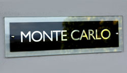 Polished Glass Signs